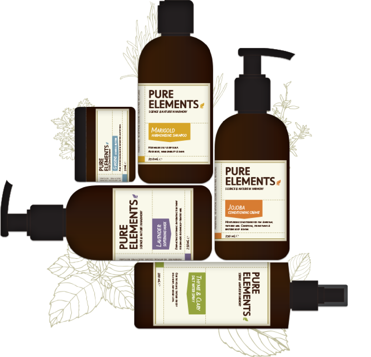 Pure elements range